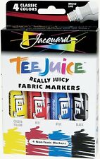 Jacquard Tee Juice Fabric Markers - 4 colors (#1)