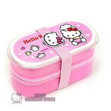 Sanrio Hello  Kitty Lunch Box/ Container /Case : Light Pink