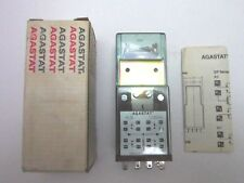 New old stock Agastat MLIN Relay Amerace Corporation 120v 60hz Made in ther USA!