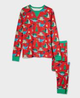 Wondershop White Black Holiday Plaid Fleece Pajama Pants Kids Size 12 #30