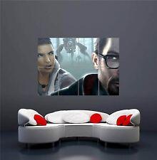 Xbox One PS3 PS4 PC juego HALF LIFE Gordon Alyx gigante de impresión de arte poster OZ1194