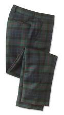 Orvis Tartan Holiday Dress Plaid Wool Pants Slim fit Trousers 42X27 NWT $189