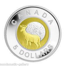 CANADA 5 Dollars 2011 PCGS PR68 Silver/Niobium - Full Back Moon