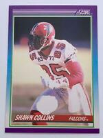 American Football Card💎Shawn Collins - Falcons💎1990 Score Card 207🌟WR #85🌟