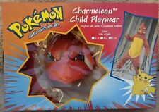 Vintage New in Box Official Pokemon Charmeleon Mask and Costume Nintendo 1999