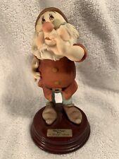DOC 1995 Disney Signed GIUSEPPE ARMANI Italy Figurine Statue 0326C Mint Rare