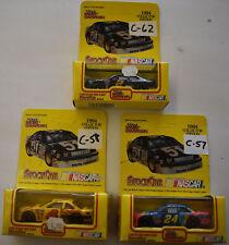 Racing Champions 1994 Collector Edition Racing 1:64 Lot of 3 Nascar Cars