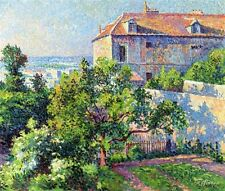 Maximilien Luce Oil Painting repro MontmArtre, the House of Suzanne Valadon