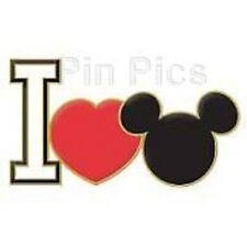 Disney Mickey Mouse LE 500 DisneyShopping.com I Love Mickey Classic Icon pin