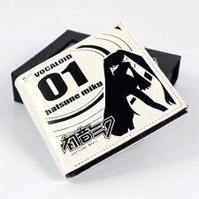 Anime Vocaloid Miku Hatsune Miku Cosplay PU Purse Wallet Bag Gift New with Box