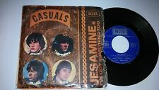 THE CASUALS Jesamine  SP 45 rpm DECCA 79029 pop mod