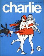 """""""CHARLIE N°15 / avril 1970"""" PICHARD et WOLINSKI : PAULETTE"""