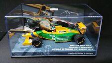 1:43 Minichamps Benetton B192 Ford Michael Schumacher 92 Belgian GP F1 447920019