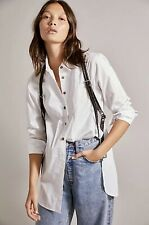 NWT Free People Braided Leather Harness Vest One Size XS S M L Black