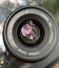 Canon Eos Lens EF 35-80mm 1:4-5.6 llI