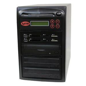 SySTOR 1-2 MultiMedia PLUS-Flash Memory Drive to Disc Backup+Blu-ray Duplicator