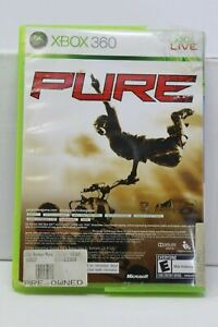 Pure (Microsoft Xbox 360, 2008) Disney Video Game Disc & Case Included