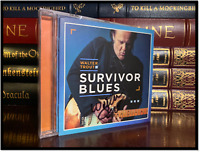 Survivor Blues ✎SIGNED♫ by WALTER TROUT Brand New Sealed CD Autographed Booklet