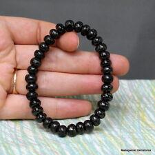 8 mm Bean Beads Shungite Schungite Stretch Bracelet Anti Radiation Russia