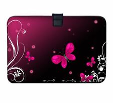 """Luxburg 11"""" - 13"""" Ultra Slim Sleeve Soft Case Cover for MacBook Air Retina Red Butterfly 33 Cm (13 Zoll) Notebook"""
