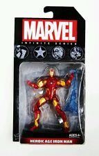 HASBRO MARVEL Avengers Infinito SERIE HEROICA Edad IRON MAN FIGURA