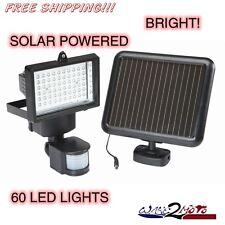 LED Flood Light Spot Light Motion Sensing Outdoor Solar Power Rechargeable Home