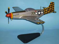 P-51 Mustang Belligerent Bets   Wood Model Airplane BIG