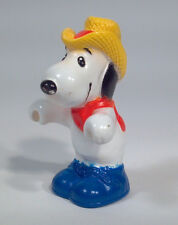 Vintage Snoopy Cowboy Hat Charlie Brown Figure United Features Syndicate 2.5""