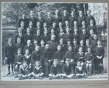 PHOTO ANCIENNE GROUPE ECOLE RELIGIEUX - J. DAVID & E. VALLOIS - CIRCA 1925/30