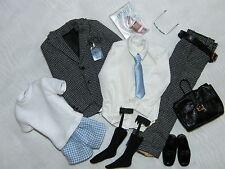 Silkstone Ken Jacquard Suit Fashion & Accessories Newly De-boxed ~ Free U.S Ship