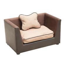 Cuccia divano letto  Cuccetta in ecopelle Per Cani e Gatto L 68.5 x 42 x 43cm
