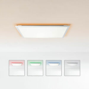 LED Panel Decken Leuchte Lampe CCT dimmbar Fernbedienung RGB Backlight 60x60 NEU