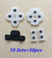 10sets Soft Rubber Silicone Conductive Adhesive Button Pad keypads for Sony PS3