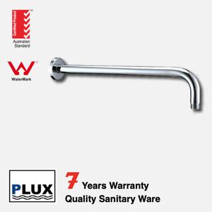 PLUX Round L Shape Wall Mount Shower Head Extension Arm 404mm- -Tap/ Mixer/ Fauc