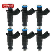 6x OEM Fuel Injectors For Bosch 04-08 Cadillac Buick 3.6L V6 0280156131 12571159