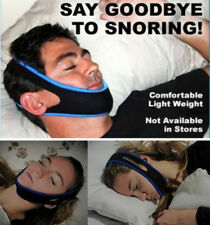 Genuine My Snoring Solution Chin Strap Sleep Apnea Belt Stop Snoring TMJ