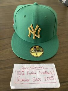 7 1/8 New Era Hat Club Exclusive New York Yankees Olympic Pack Gold Medal Pack