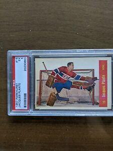 1957 Parkhurst #15 Jacques Plante, Montreal Canadiens.  PSA 5