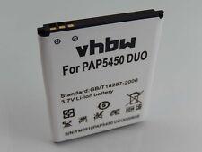 Batteria 1500mAh 3.7V Li-Ion per Prestigio MultiPhone 5450 Duo