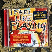 RONNIE WOOD I FEEL LIKE PLAYING CD ROLLING STONES feat. Slash Eddie Vedder