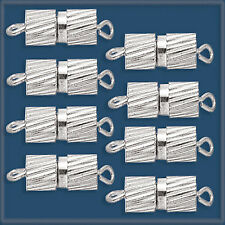 12 pairs 9.25 mm Silver Color MAGNETIC CLASPS