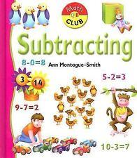 Subtracting (Math Club - Kindergarten)-ExLibrary