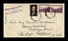 Dr Jim Stamps Buenos Aires Argentina Airmail Multi Franked Monarch Size Cover