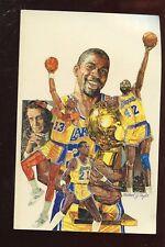 1987/1988 NBA Basketball Los Angles Lakers Media Guide NRMT