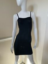 ASSETS By Spanx NEW! Black Short Slimming Support Shapewear Slip Sz M NWOT!
