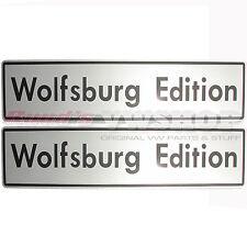Wolfsburg Edition Kennzeichenplatten VW Händler Golf GTI 16V-G60, NEU! RAR!