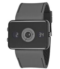 01 THE ONE: SPINNING WHEEL - Dual Time Zone Watch - LCD Display Retail $210.00
