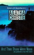 And Then There Were None by Agatha Christie FREE SHIPPING a paperback book