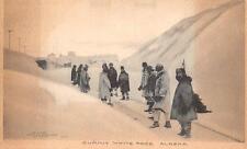 SUMMIT WHITE PASS ALASKA POSTCARD (c. 1910)