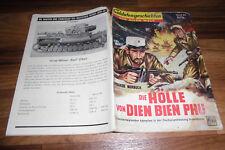 SOLDATENGESCHICHTEN 24 / 1958 -- HÖLLE von DIEN BIEN PHU / Fremdenlegion in Indo